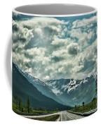 Road Travel Alaska Color  Coffee Mug