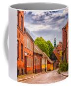 Roads Of Lund Digital Painting Coffee Mug