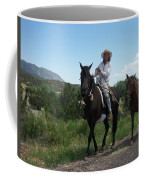 Roadside Horses Coffee Mug