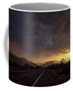 Roadside Sunset  Coffee Mug