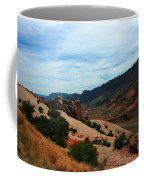 Roadway Rock Formations Arches National Park Coffee Mug