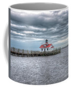 Roanoke Marshes Lighthouse, Manteo, North Carolina Coffee Mug