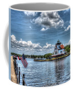 Roanoke River Lighthouse No. 2a Coffee Mug