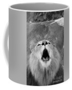 Roar  Black And White Coffee Mug