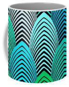 Roaring 20's Turquoise Coffee Mug