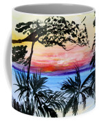 Roatan Sunset Coffee Mug