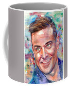 Robbie Williams Portrait Coffee Mug