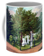 Robert E. Lee Visits Stonewall Jackson's Grave Coffee Mug