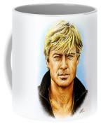 Robert Redford Coffee Mug by Andrew Read