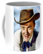 Robert Vaughn, Vintage Actor Coffee Mug