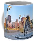 Roberto Clemente Statue 2017 Coffee Mug