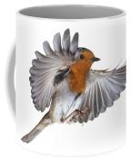 Robin Flying Coffee Mug