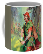 Robin Hood Coffee Mug by James Edwin McConnell