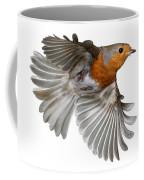 Robin In Flight Coffee Mug