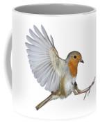 Robin Landing Coffee Mug