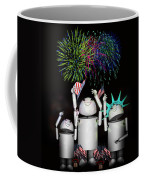 Robo-x9 And Family Celebrate Freedom Coffee Mug