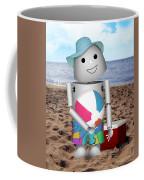 Robo-x9 At The Beach Coffee Mug