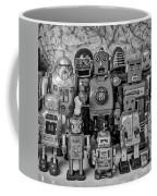 Robot Family Coffee Mug