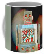 Robot Pop Art R-1 Coffee Mug
