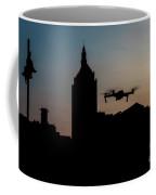 Rochester Drone Sunset Coffee Mug