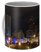Rochester Skyline From Freddie-sue Bridge Coffee Mug