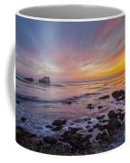 Rock And Piedras Blancas Lighthouse Coffee Mug