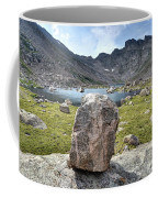 Rock At Abyss Lake Coffee Mug