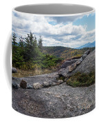 Rock Boundaries On Casecade Mountain Keene Ny New York Coffee Mug