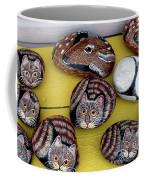 Rock Cats And Fawns Coffee Mug