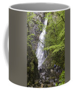 Rock Climbers At Graymare's Tail Falls Coffee Mug