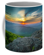 Rock Climbing At Ravens Roost Coffee Mug
