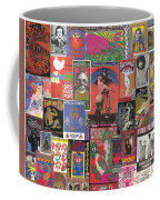 Rock Concert Posters Collage 1 Coffee Mug