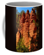 Rock Formations Created By Erosion Coffee Mug