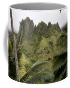 Rock Formations Seen Through Coconut Coffee Mug