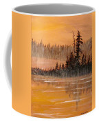 Rock Lake Morning 3 Coffee Mug