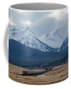 Rock Mountain Front- Train Coffee Mug