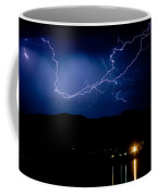 Rock Mountains Foot Hills Lightning Storm Coffee Mug