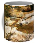 Rock Pattern Coffee Mug