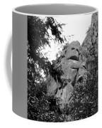 Rock Spirits At Yosemite B And W Coffee Mug