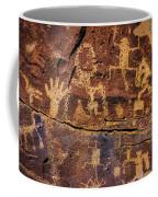 Rock Wall Of Petroglyphs Coffee Mug