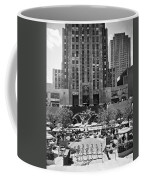 Rockefeller Center Plaza Coffee Mug