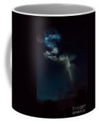 Rocket Contrail With Star Coffee Mug