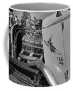 Rocket Girl Black And White Coffee Mug