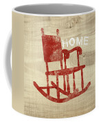 Rocking Chair Home- Art By Linda Woods Coffee Mug