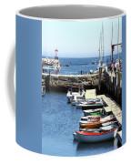 Rockport Ma Inner Harbor Coffee Mug