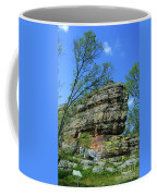 Rocks Along The Roadway Coffee Mug