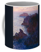 Rocks At Bell Ile Coffee Mug