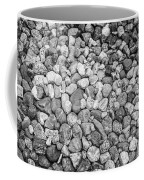 Rocks From Beaches In Black And White Coffee Mug