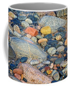 Rocks Of Many Colors On Lake Superior Shoreline In Pictured Rocks National  Coffee Mug