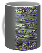 Rocks On Beach Abstract Coffee Mug